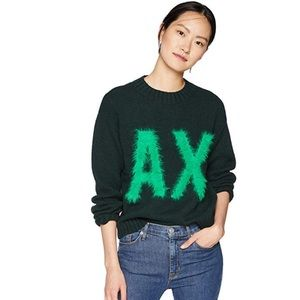 Armani Exchange Long Sleeve Pullover Sweater